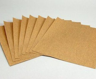 is an ideal abrasive sanding sheet for soft metals like aluminum, brass, bronze and copper.