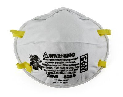 3M Particulate Respirator 8200/07023(AAD), N95