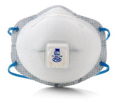 3M Particulate Respirator 8577 P95